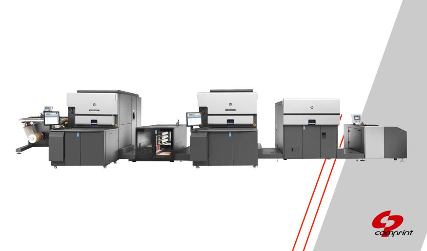 HP Indigo 8000 para impressão de etiquetas