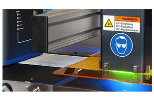 Impressora Sensecure – Sistema de Secagem UV