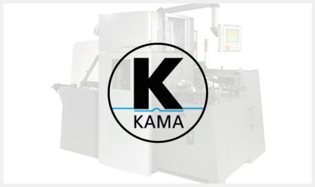 Kama - Equipamentos Para Acabamentos de Corte Vico e Fechamento de Cartuchos