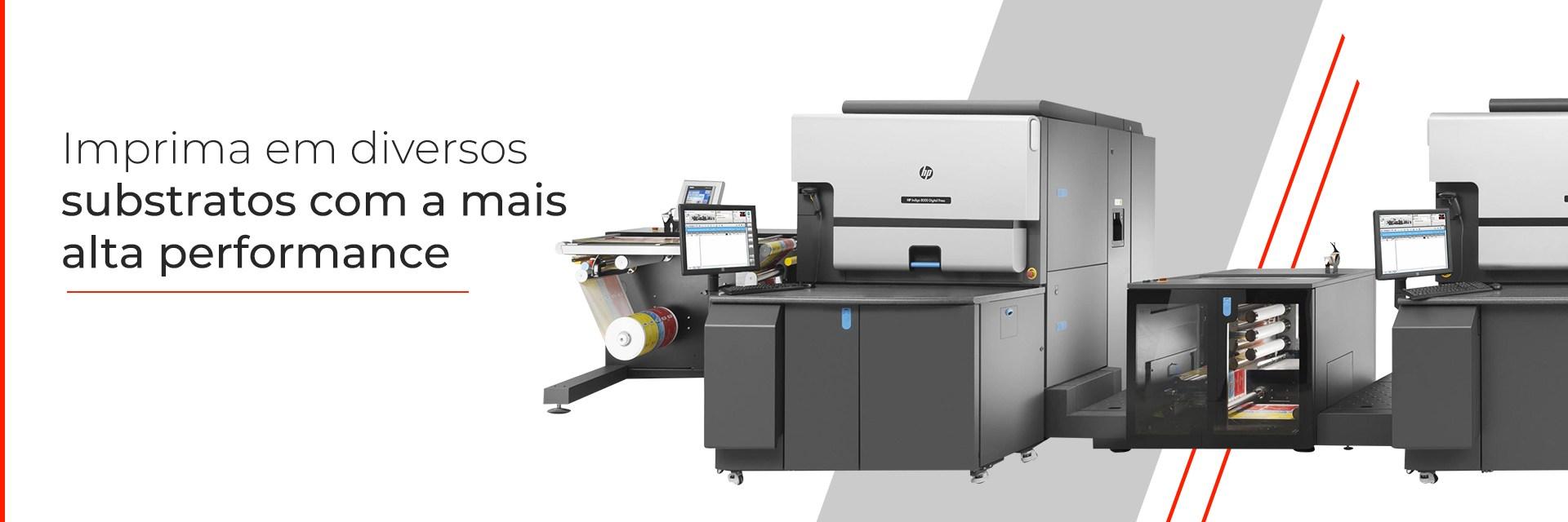 Impressora HP Indigo 8000