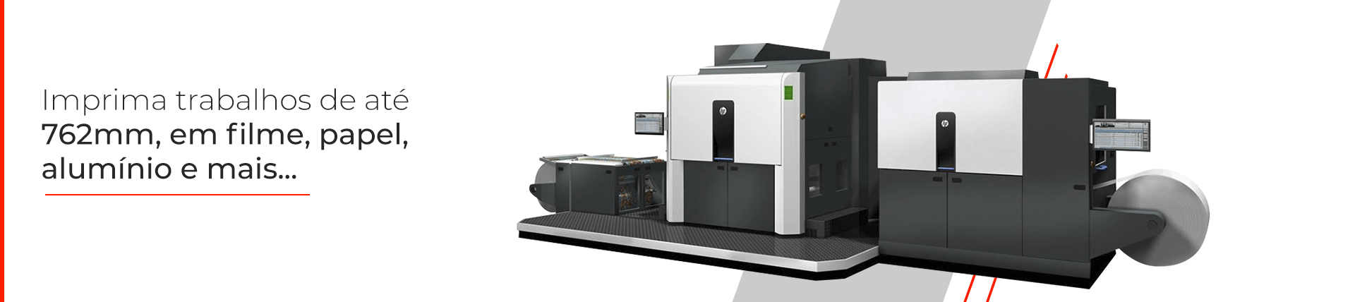 Impressora HP Indigo 20000 para etiquetas, rótulos e embalagens