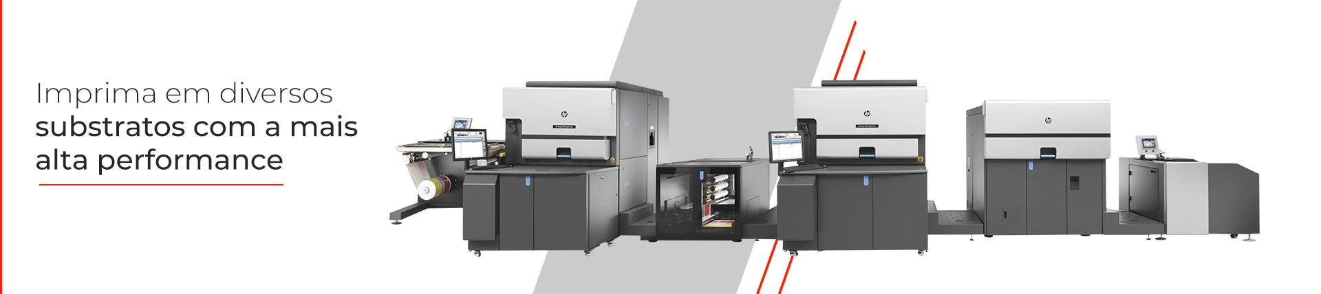 Impressora Hp Indigo 8000 pra Etiquetas