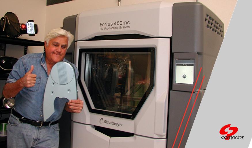 Case de Sucesso: Jay Leno faz parceria com STRATASYS para imprimir em 3D peças para carros clássicos