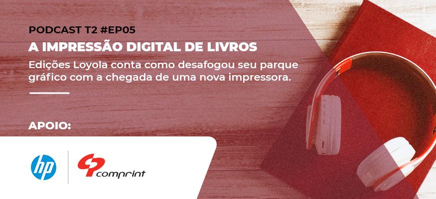 Impressão digital de livros